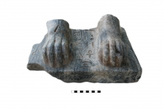 A fragment of a sphinx of king Men-kau-re