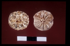 Gold jewellery, found in the Late Bronze Age Ceremonial Precinct