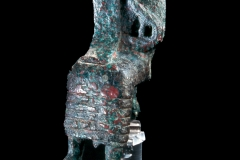 Bronze figurine of a king